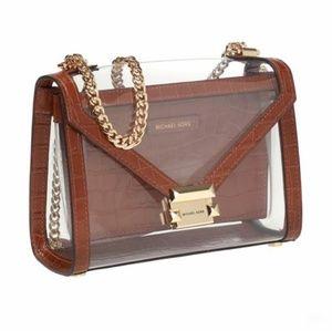 Michael Kors Authentic PVC Shoulder Bag